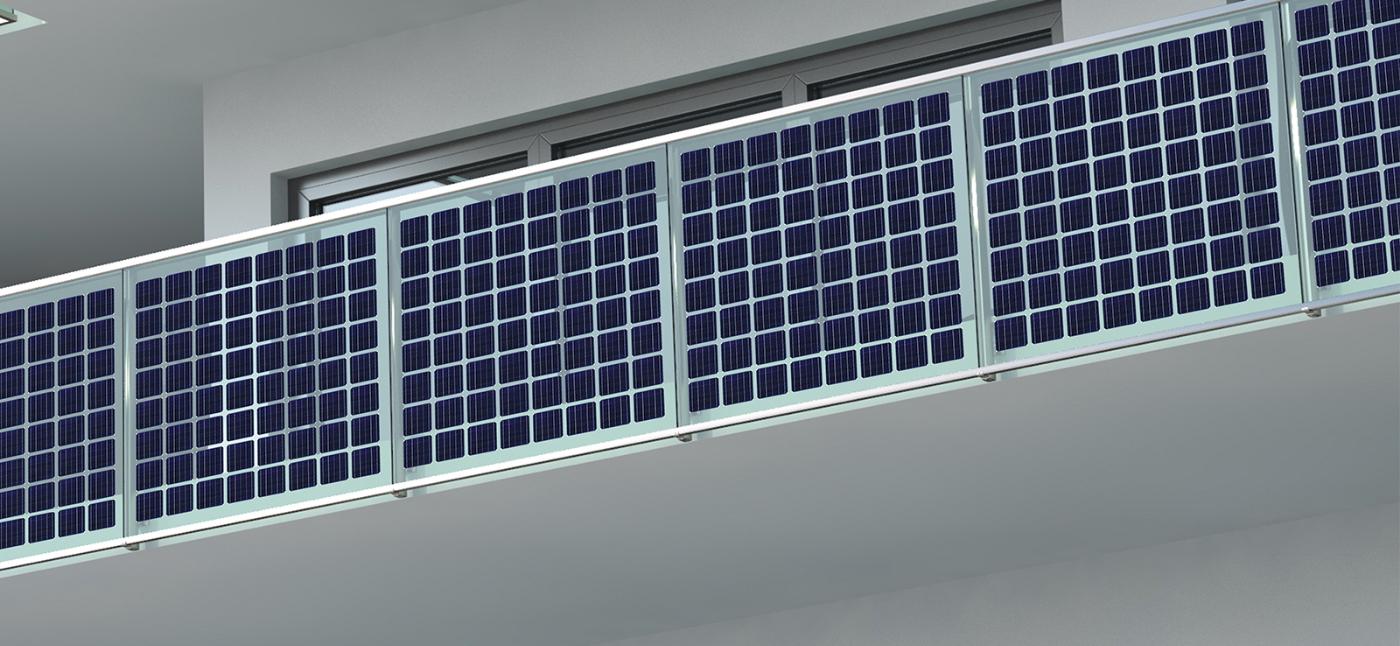 balcone fotovoltaico