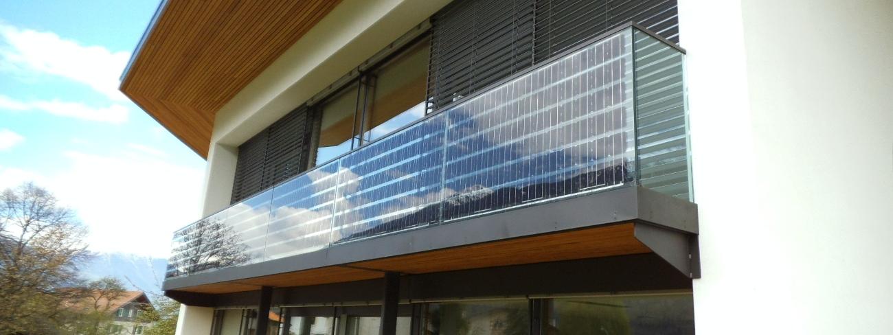 Faraone + EnergyGlass , Balcone Fotovoltaico