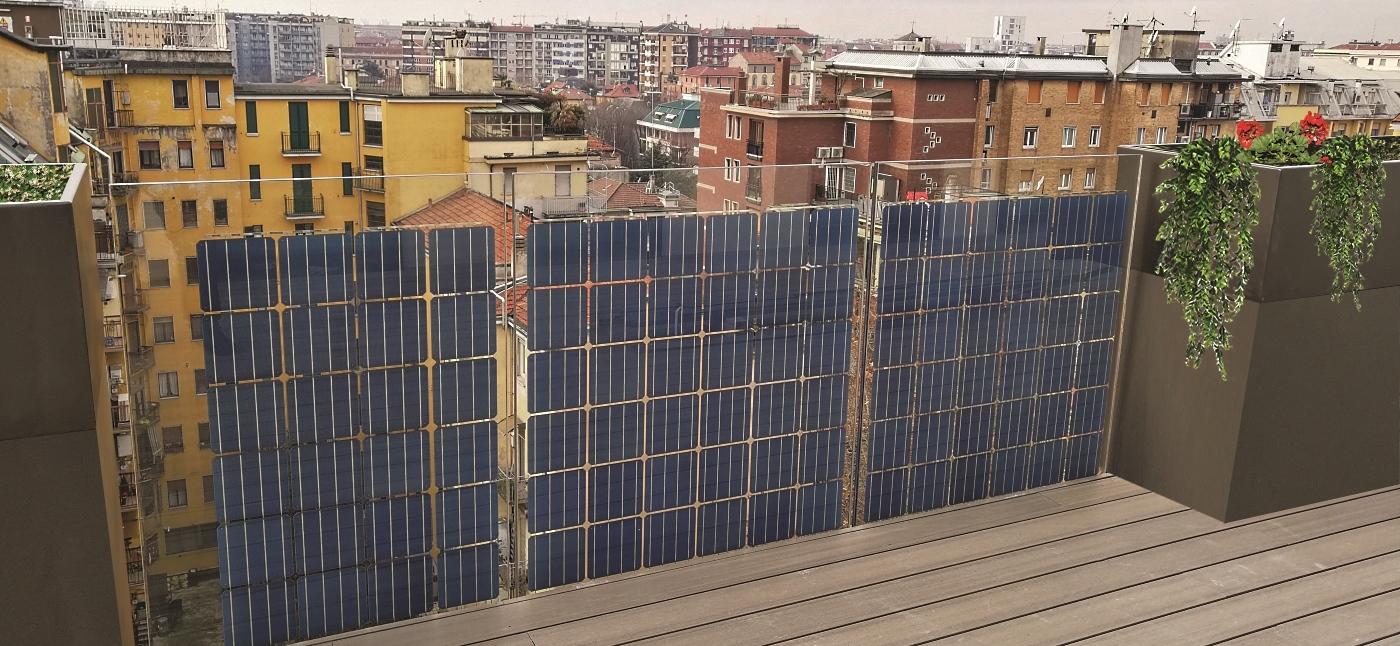 balcone fotovoltaico, Faraone