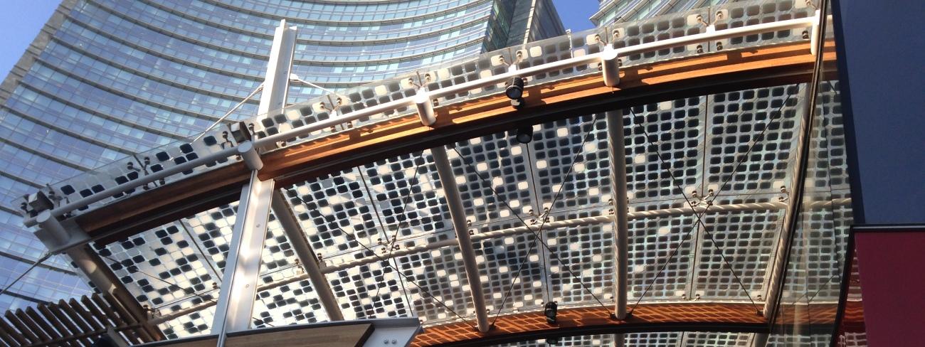 Faraone ed EnergyGlass, balcone fotovoltaico